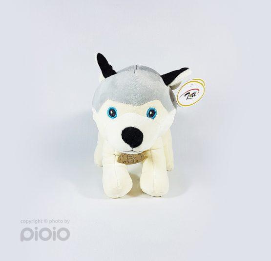 عروسک سگ مدل هاسکی