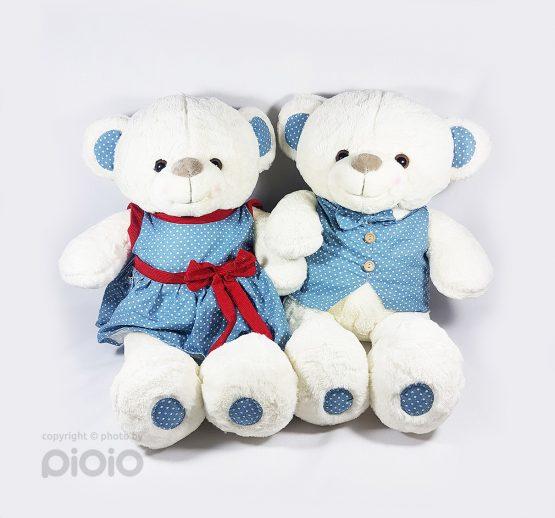 عروسک خرس دختر و پسر 57 سانتی