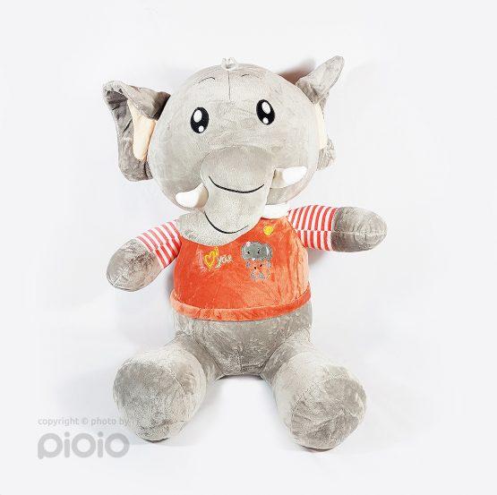 عروسک فیل بزرگ خرطوم کوتاه
