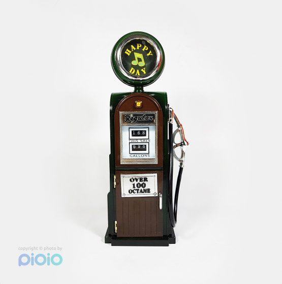جعبه موزیکال طرح پمپ بنزین