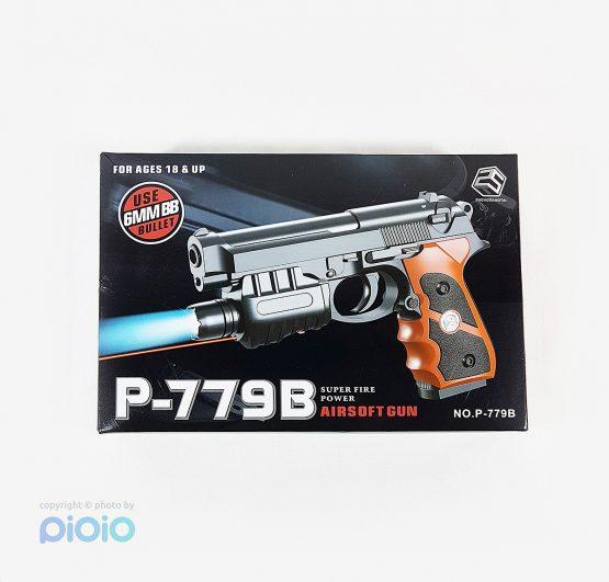 تفنگ کلت لیزری اسباب بازی مدل P-779B