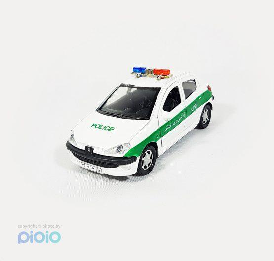 ماکت پژو 206 پلیس انتظامی