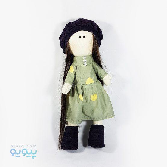 عروسک دختر روسی لباس قلبی
