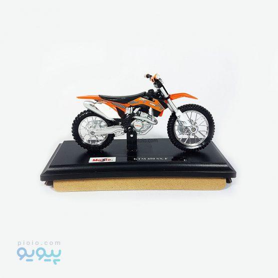 ماکت موتورسیکلت فلزی KTM 450 SX-F