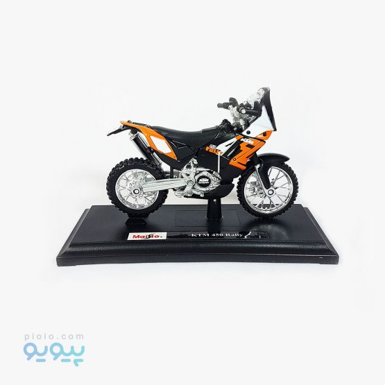 ماکت موتورسیکلت KTM 450 Rally