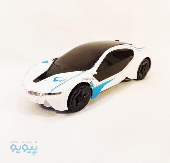 ماشین بازی BMW i8 چراغ سه بعدی