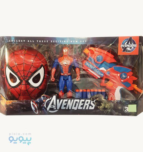 ماسک و اسلحه مرد عنکبوتی