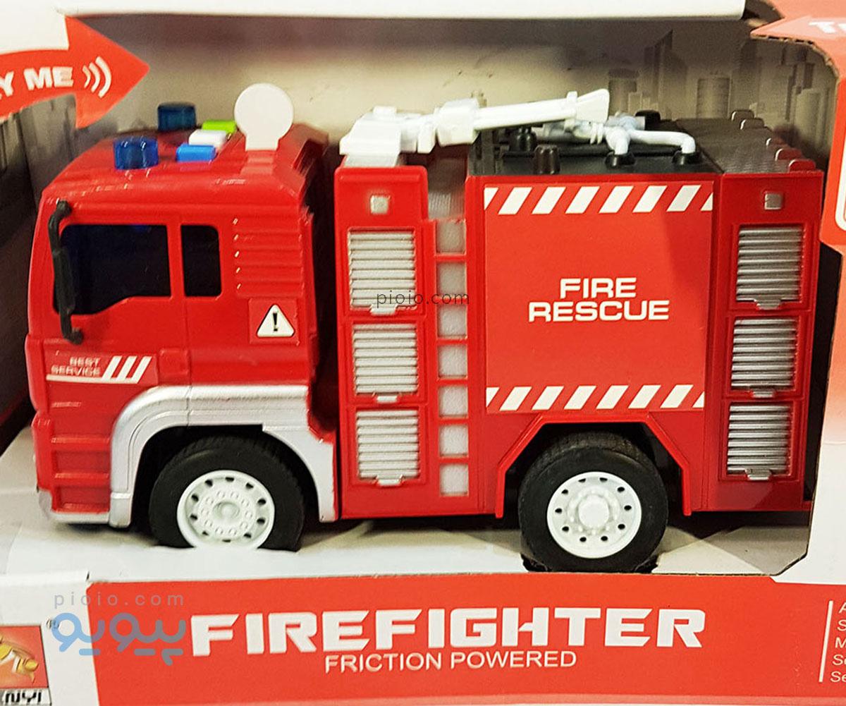 ماشین اسباب بازی آتش نشانی مدل WY551A |