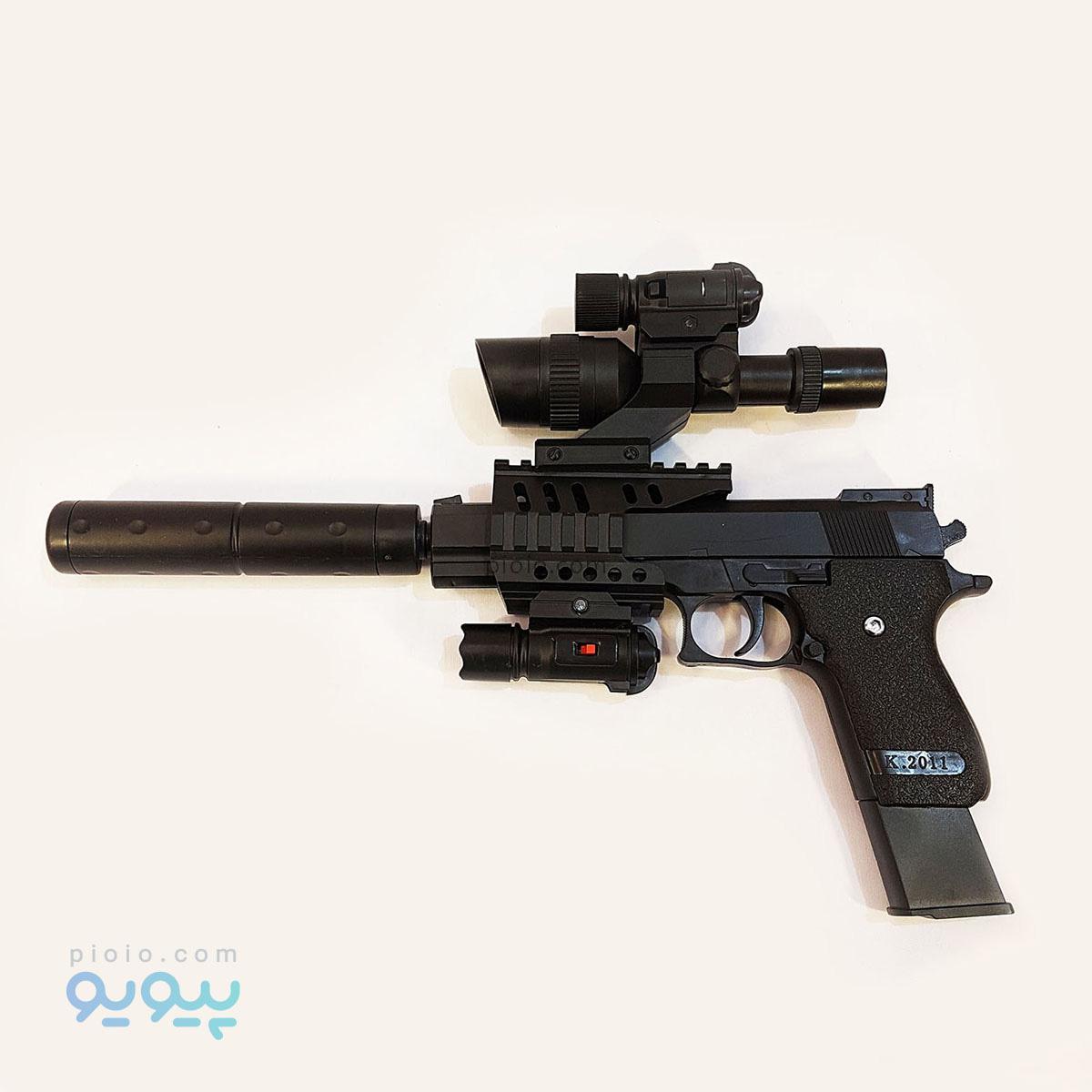 تفنگ اسباب بازی AIR SOFT مدل K.2011A |