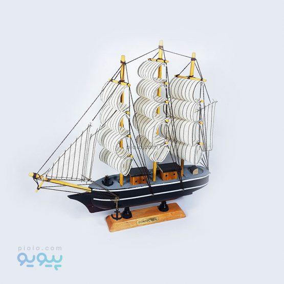 ماکت چوبی کشتی بادبانی
