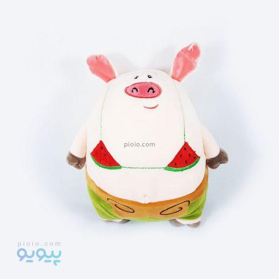 عروسک خوک وزنه بردار