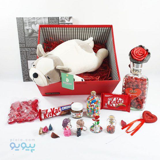 هدیه روز ولنتاین با عروسک بولداگ