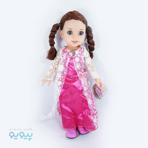 خرید عروسک آوازخوان دختر مو بافته