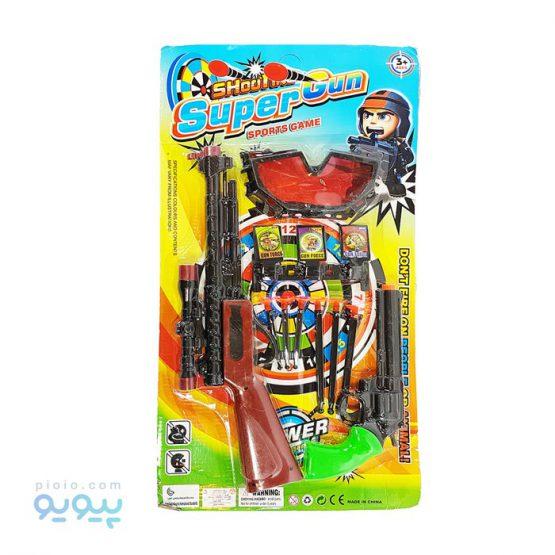تفنگ و هفت تیر مدل Super Gun