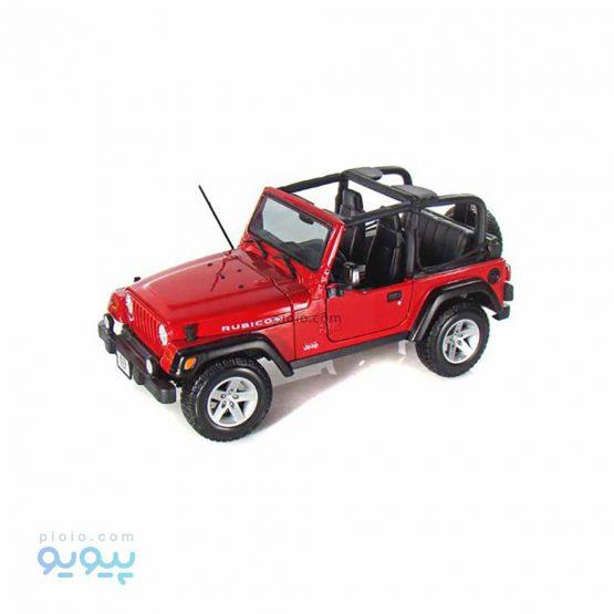 ماکت فلزی مدل Jeep Wrangler RUBICON