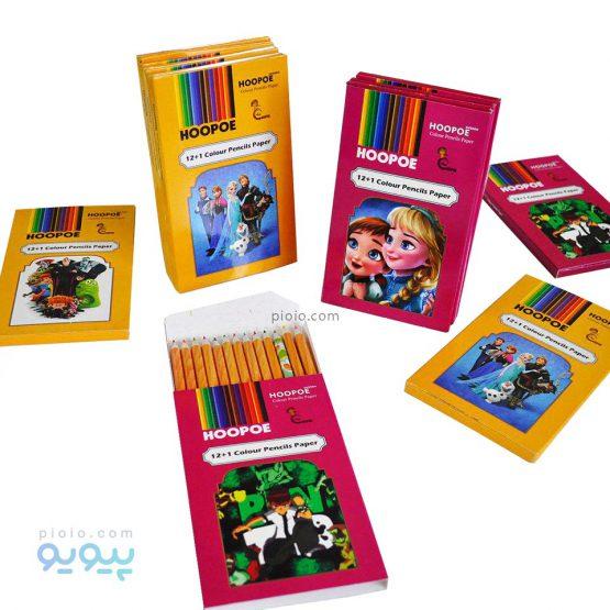 مداد رنگی 12 رنگ Hoopoe