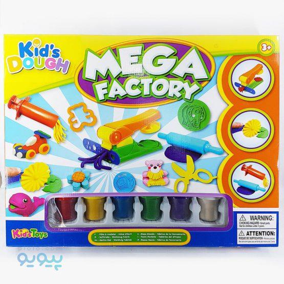 خمیر بازی مدل Mega Factory