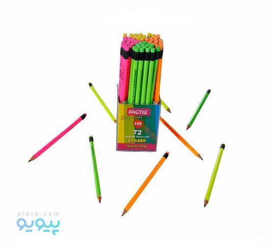 مداد مشکی فکتیس مدل Fluorescent