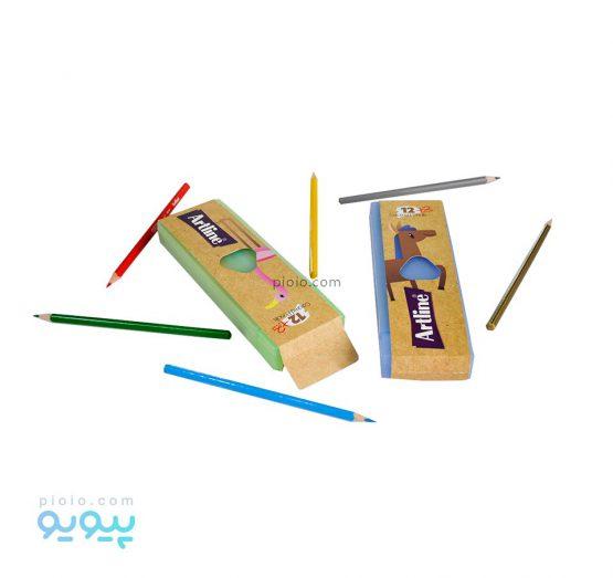 مداد رنگی 2+12 رنگ آرت لاین کد Z1