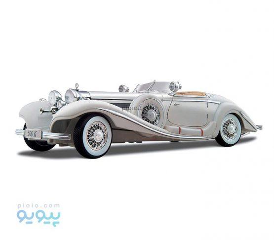 ماکت ماشین مدل Mercedes Benz 500K Type Specialroadster 1936