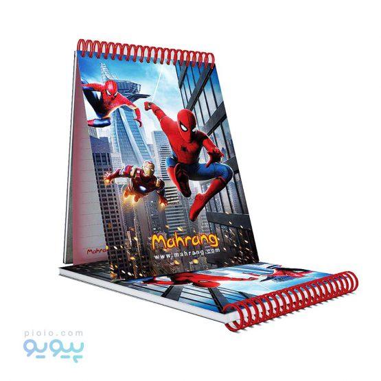 دفترچه یادداشت طرح مرد عنکبوتی