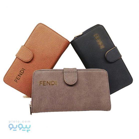 کیف پول زنانه مدل FENDI