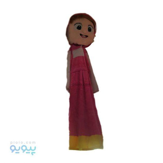 لباس عروسکی طرح دختر