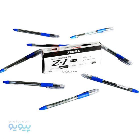 خودکار آبی Zebra