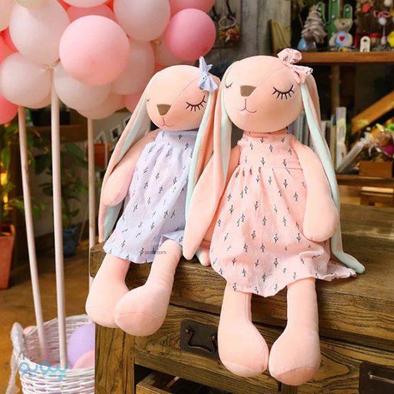 عروسک خرگوش آنجل چشم بسته