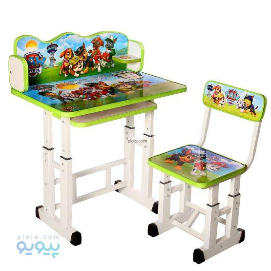 میز تحریر کودک پسرانه طرح سگ های نگهبان
