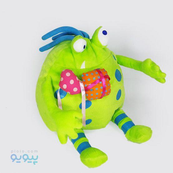 عروسک میکروب ویروسی