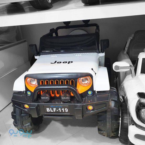 ماشین شارژی جیپ آفرودی jeep