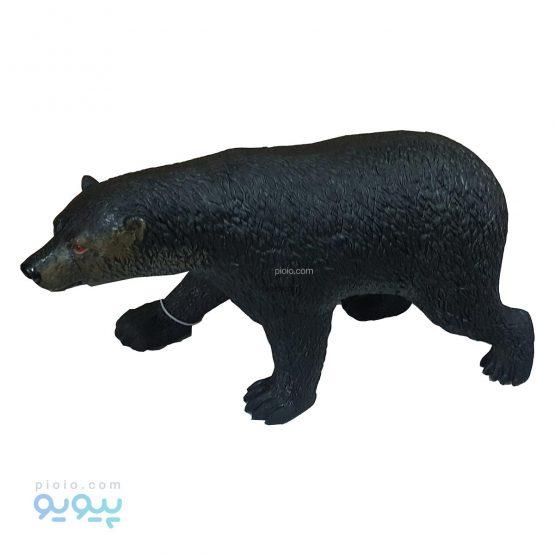 فیگور خرس قهوه ای اسباب بازی پلاستیکی نرم سایز بزرگ