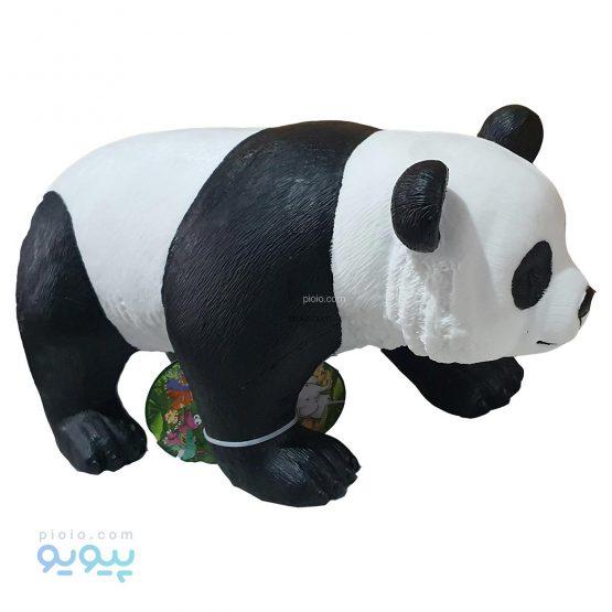 فیگور خرس پاندا اسباب بازی پلاستیکی نرم سایز بزرگ