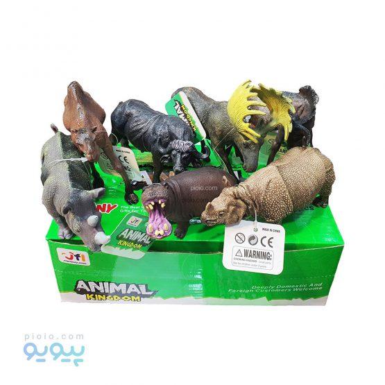 فیگور اسباب بازی حیوانات بسته 6 عددی