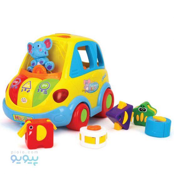 اسباب بازی هولی تویز مدل Smart Bus کد 896