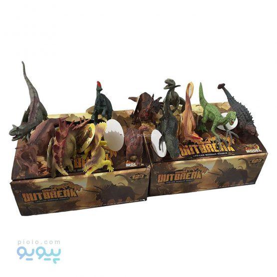 اسباب بازی فیگور دایناسورها