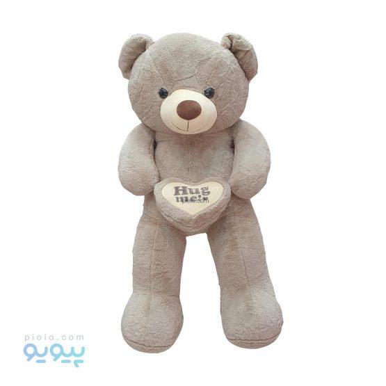 عروسک خرس بزرگ رنگ قهوه ای