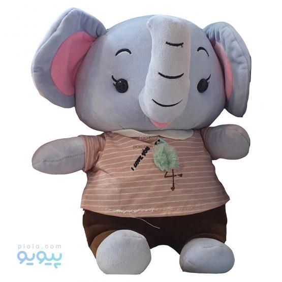 عروسک فیل 30 سانتی متری