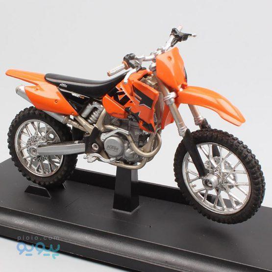 ماکت موتورسیکلت ویلی مدل KTM 450 SX Racing