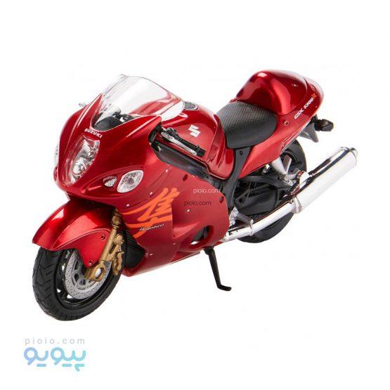ماکت موتورسیکلت ویلی مدل Suzuki hayabusa
