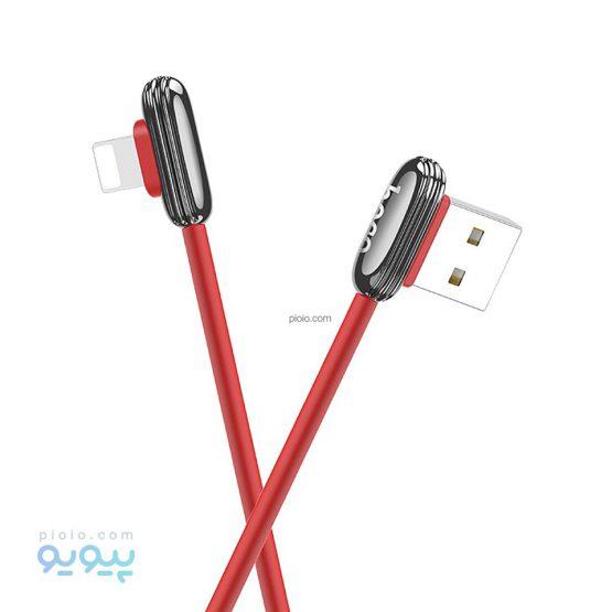 کابل تبدیل USB به Lightning هوکو مدل U60