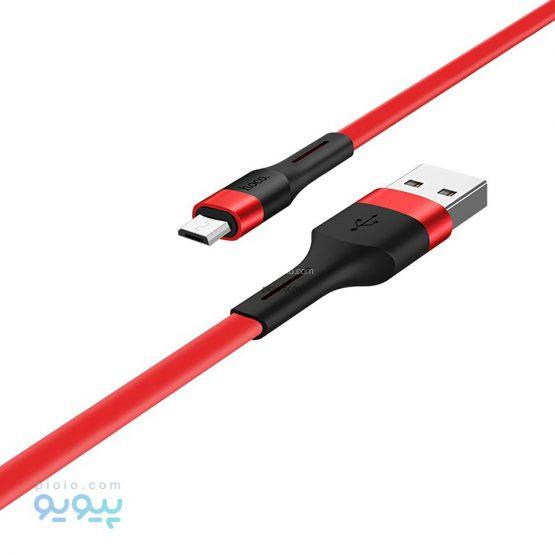 کابل تبدیل USB به microUSB هوکو مدل X34
