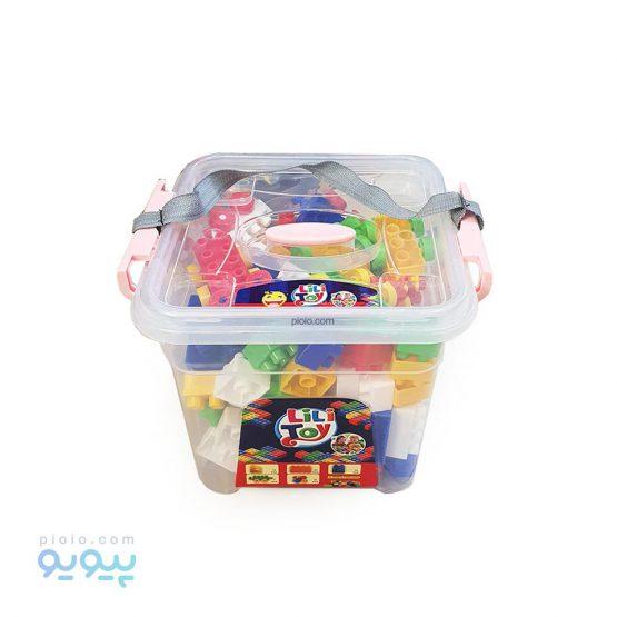 خانه سازی اسباب بازی باکس 150 تکه LiLi Toy