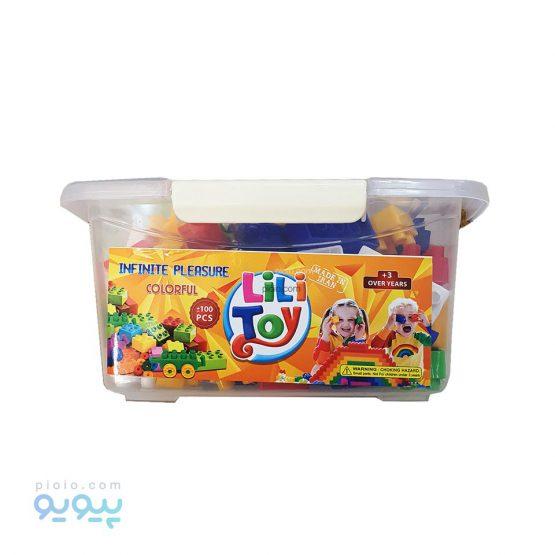 خانه سازی اسباب بازی باکس 100 تکه LiLi Toy