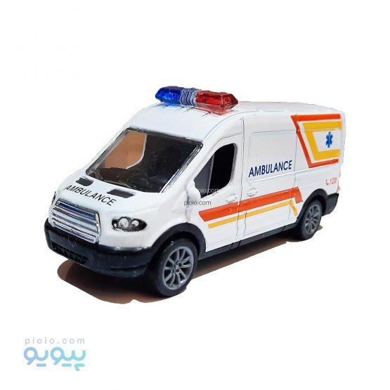 ماکت ون فلزی طرح Ambulance