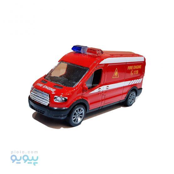ماکت ون فلزی طرح Fire Engine
