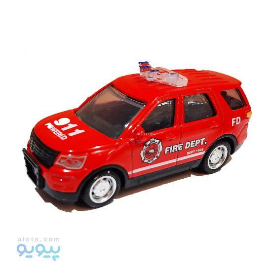 ماکت ماشین شاسی بلند طرح آتش نشانی