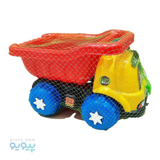 ماشین اسباب بازی کامیون پلاستیکی