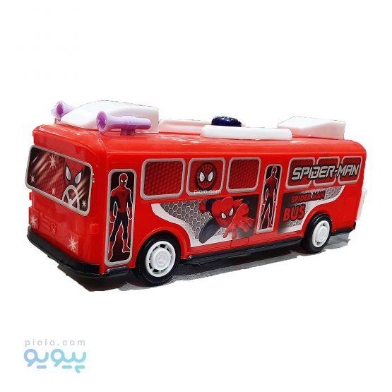اتوبوس اسباب بازی با طرح مرد عنکبوتی